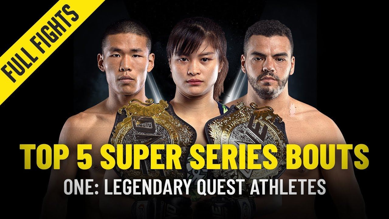 Top 5 ONE Super Series Bouts From ONE: LEGENDARY QUEST Athletes | ONE Full Fights