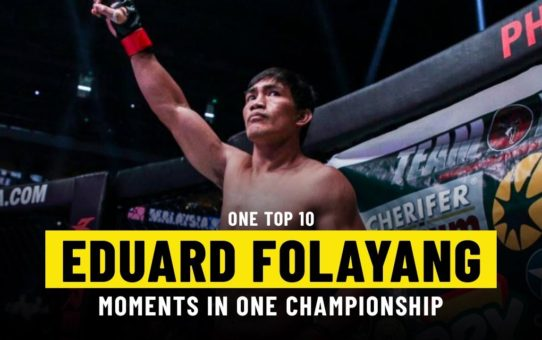 Eduard Folayang Moments   ONE Top 10