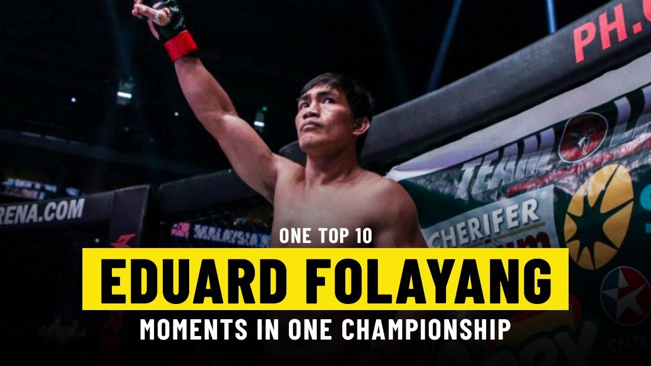 Eduard Folayang Moments | ONE Top 10