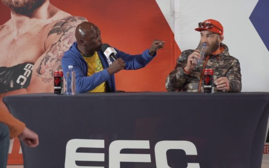 EFC 80 Press Conference & Face-off Highlights