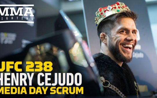 UFC 238: Henry Cejudo 'P****d Off' Over 'Punk' Marlon Moraes: 'He Got Under My Skin' – MMA Fighting