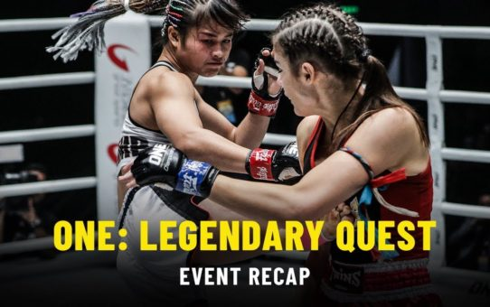 Event Recap | ONE: LEGENDARY QUEST