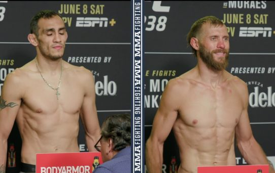 UFC 238 Weigh-Ins: Tony Ferguson, Donald Cerrone Make Weight – MMA Fighting