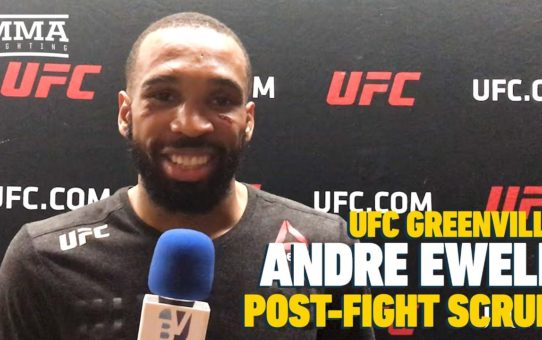 UFC Greenville: Andre Ewell Thinks His Dancing Should Earn Him $50K Bonus
