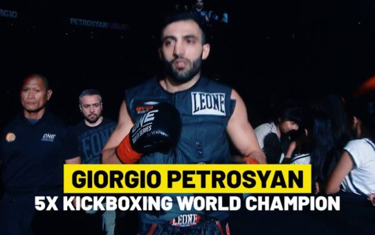 Giorgio Petrosyan's Kickboxing Perfection | ONE Highlights