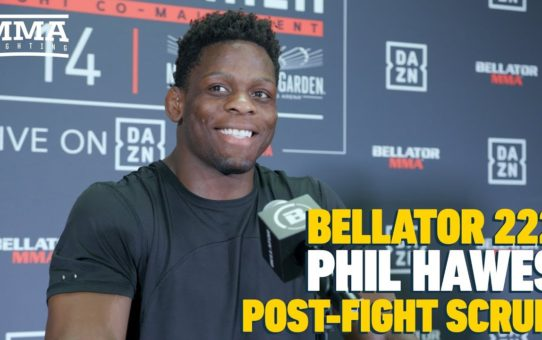 Bellator 222: Phil Hawes Says 'Hype is Real' After Returning to Win Column – MMA Fighting