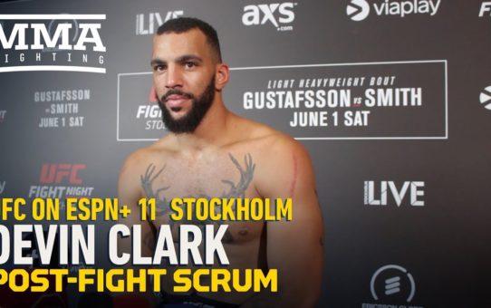 UFC Stockholm: Devin Clark Calls For Aleksandar Rakic Rematch Following Darko Stosic Win