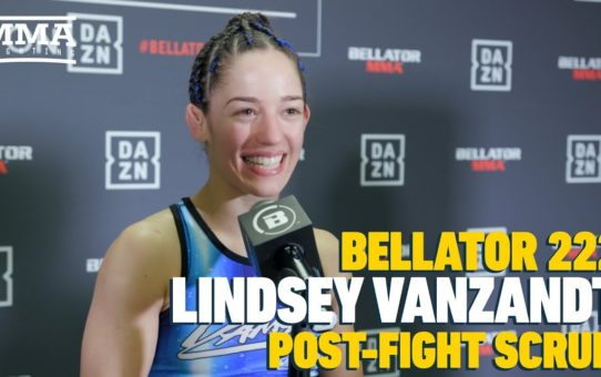 Bellator 222: Lindsey VanZandt Talks 'Big Moment' At Madison Square Garden – MMA Fighting