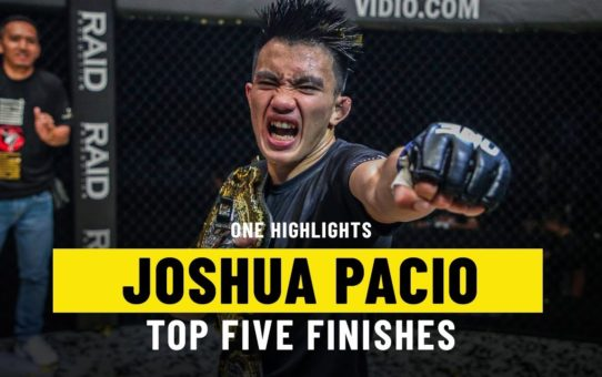 Joshua Pacio's Top 5 Finishes | ONE Highlights