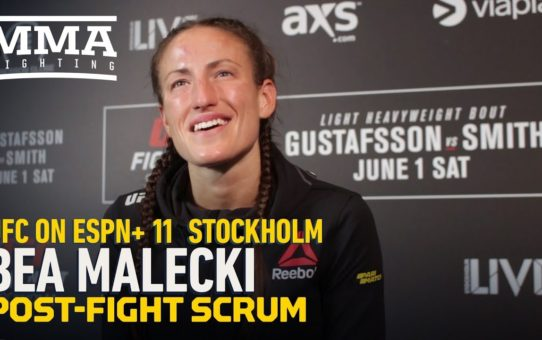 UFC Stockholm: Bea Malecki Believes Duda Santana Was First Opponent She Was 'Fully Prepared' For
