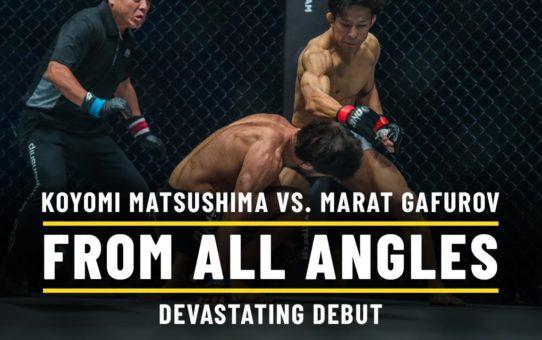 Koyomi Matsushima vs. Marat Gafurov | ONE From All Angles