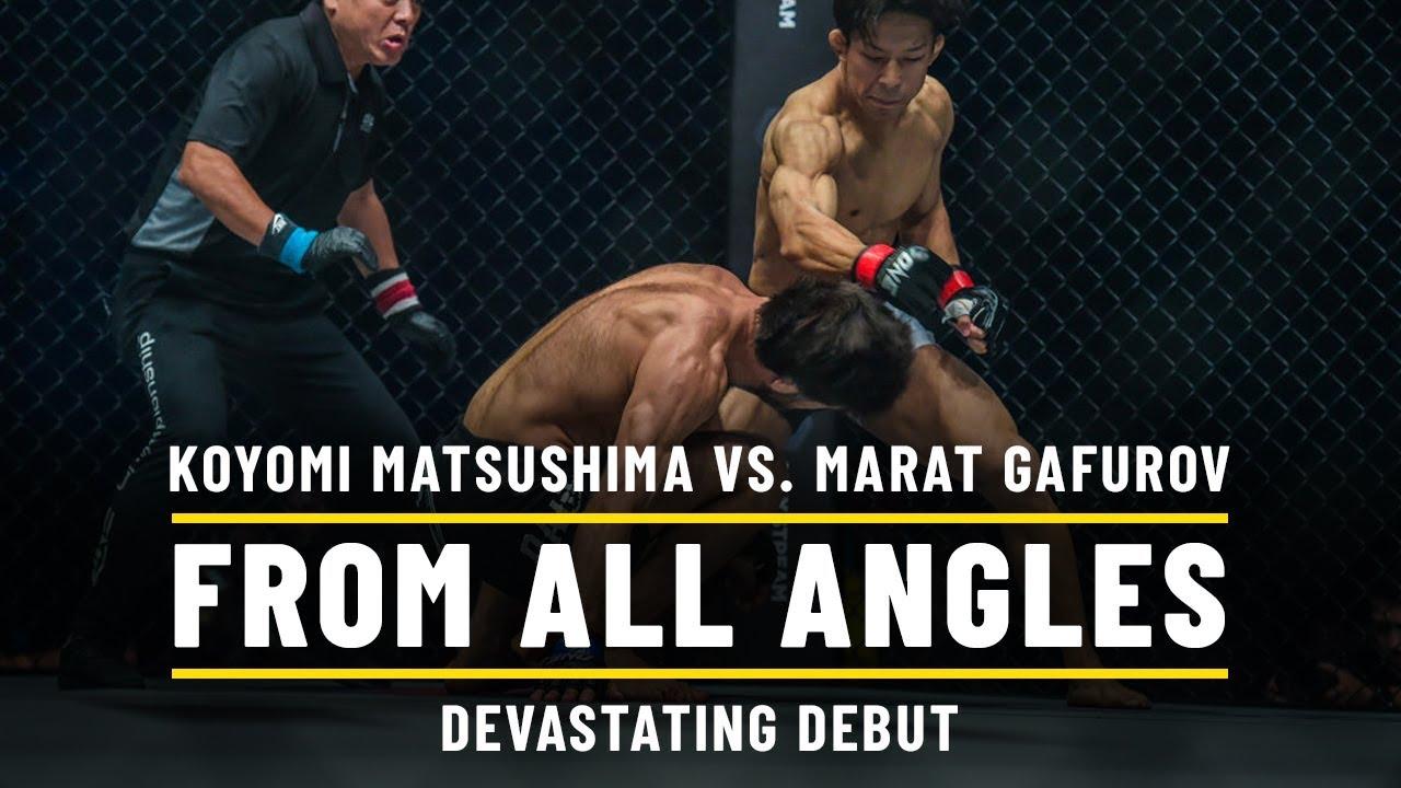Koyomi Matsushima vs. Marat Gafurov   ONE From All Angles