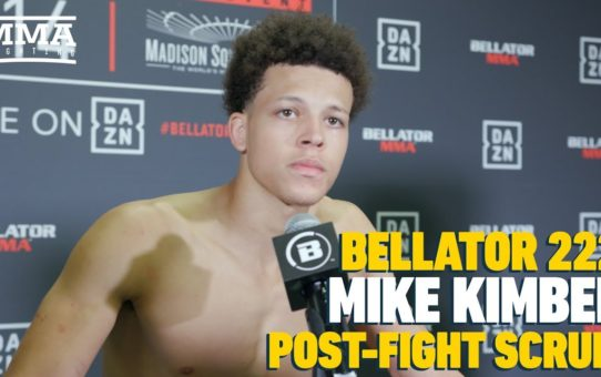 Bellator 222: Mike Kimbel Explains Why He is 'The Future' at Bantamweight – MMA Fighting