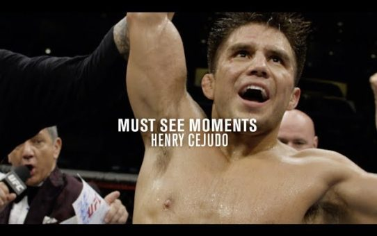 Must See Moments: Henry Cejudo