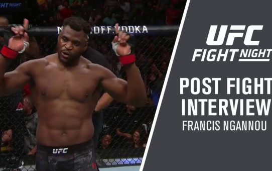 "UFC Minneapolis: Francis Ngannou – ""I Believe I Should Face the Winner of DC vs Stipe"""