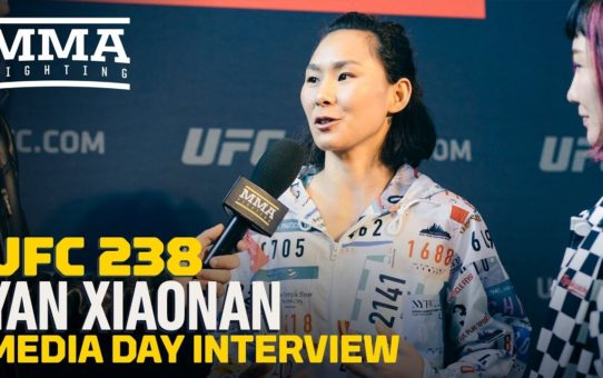 UFC 238: Xiaonan Yan Is 'Very Excited' For First Fight In United States – MMA Fighting