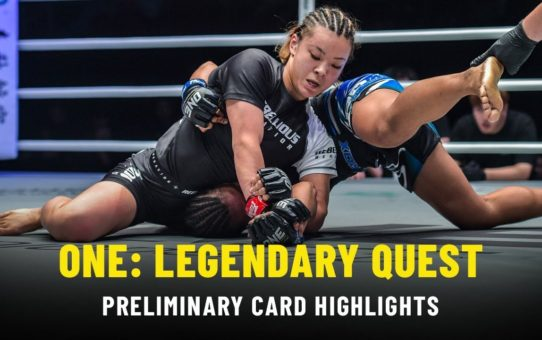 ONE: LEGENDARY QUEST Prelims | ONE Highlights