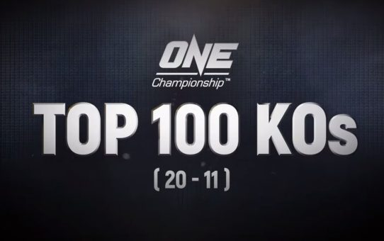 ONE's Top 100 Knockouts | 20 – 11