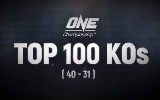 ONE's Top 100 Knockouts | 40 – 31