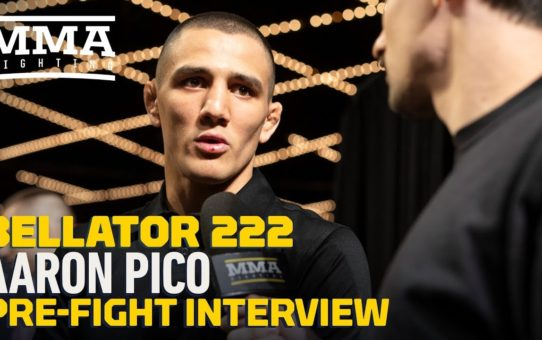 Bellator 222: Aaron Pico Discusses Controversial Matchmaking: 'I Know It's Risky'