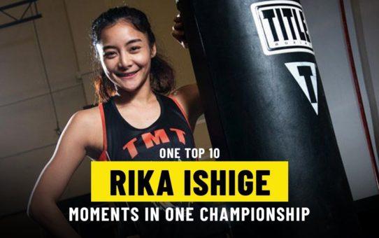 Rika Ishige Moments | ONE Top 10