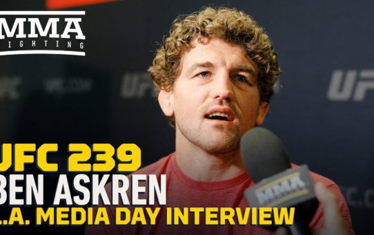 UFC 239: Ben Askren Says He's 'Very Far' in Jorge Masvidal's Head And Under His Skin – MMA Fighting