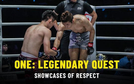 Shows Of Respect | ONE: LEGENDARY QUEST