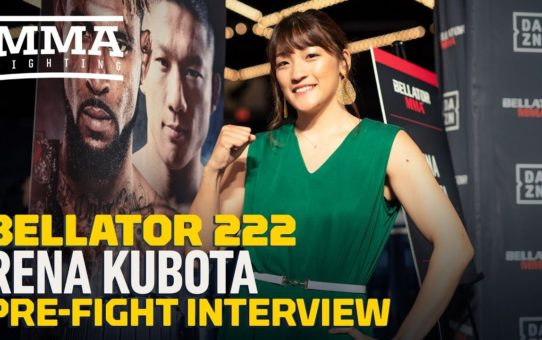 Rena Kubota Looking to Win Over U.S. Fans with Striking Skills at Bellator 222- MMA Fighting