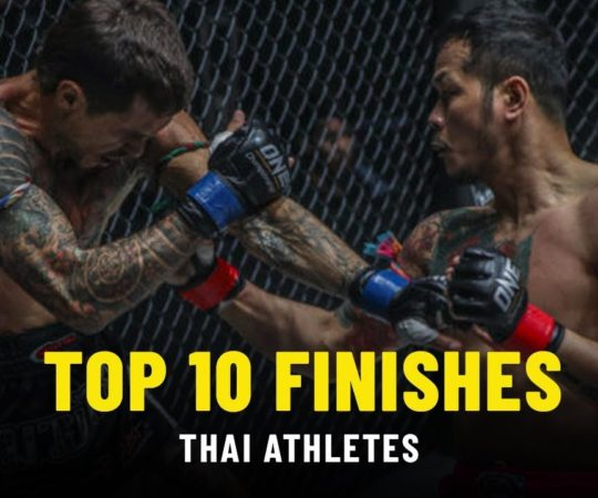 Top 10 Finishes | Thai Athletes | ONE Highlights