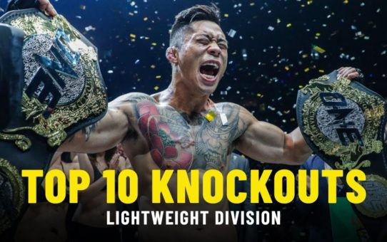 Top 10 Lightweight Knockouts | ONE Highlights