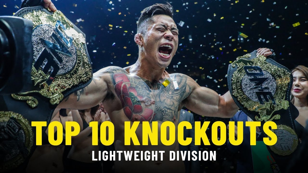 Top 10 Lightweight Knockouts   ONE Highlights