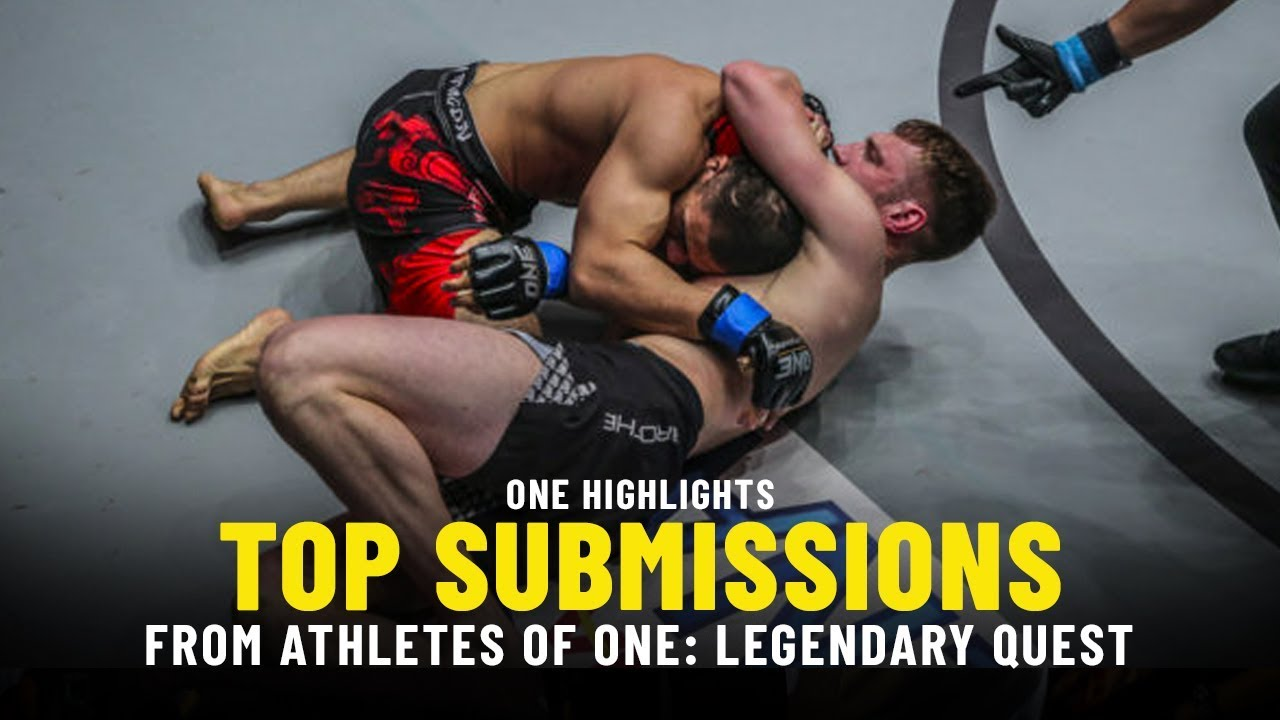 Top 3 Submissions From ONE: LEGENDARY QUEST Athletes | ONE Full Fights