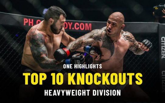 Top 5 Heavyweight Knockouts   ONE Highlights