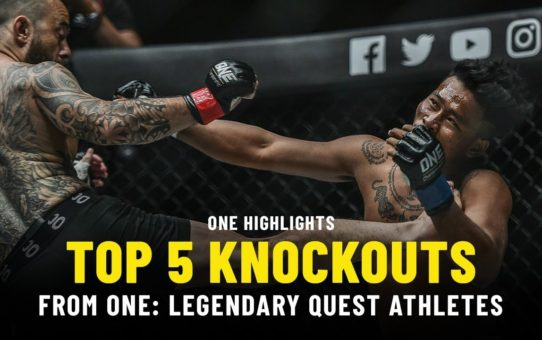 Top 5 Knockouts From ONE: LEGENDARY QUEST ATHLETES | ONE Highlights