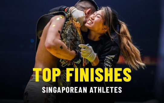 Top Finishes   Singaporean Athletes   ONE Highlights