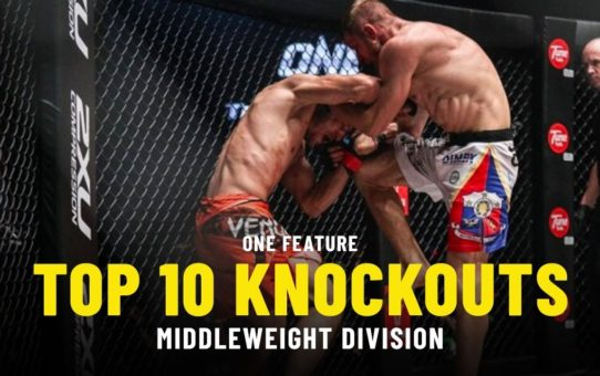 Top Knockouts | Middleweight Division | ONE Highlights