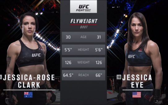 UFC 238 Free Fight: Jessica Eye vs Jessica-Rose Clark