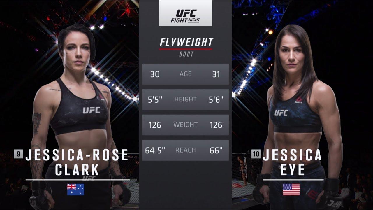 UFC 238 Free Fight: Jessica Eye vs Jessica-Rose Clark