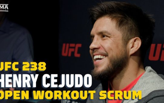 UFC 238: Henry Cejudo Open Workout Media Scrum – MMA Fighting