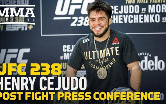 UFC 238: Henry Cejudo Post-Fight Press Conference – MMA Fighting