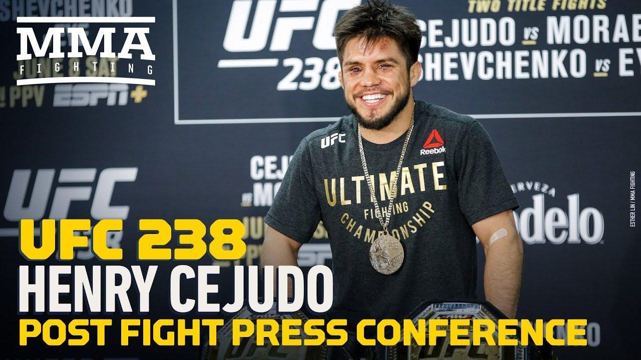 UFC 238: Henry Cejudo Post-Fight Press Conference - MMA Fighting