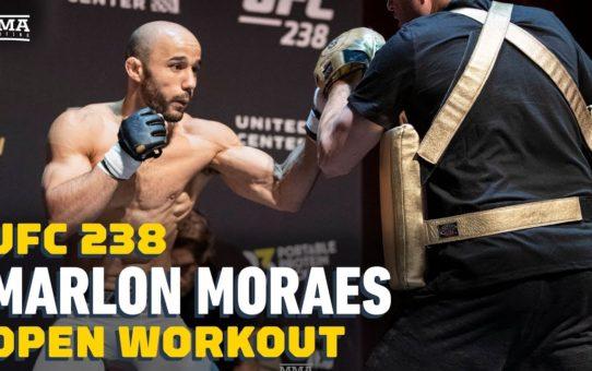UFC 238: Marlon Moraes Open Workout Highlights – MMA Fighting