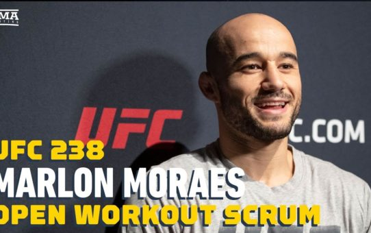 UFC 238: Marlon Moraes Open Workout Media Scrum – MMA Fighting