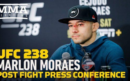 UFC 238: Marlon Moraes Post-Fight Press Conference – MMA Fighting