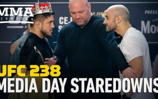 UFC 238 Media Day Staredowns – MMA Fighting