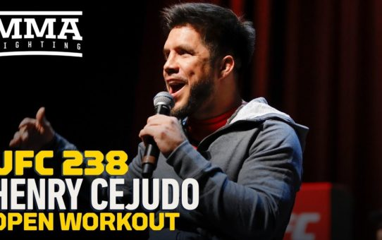 UFC 238 Open Workout Henry Cejudo – MMA Fighting