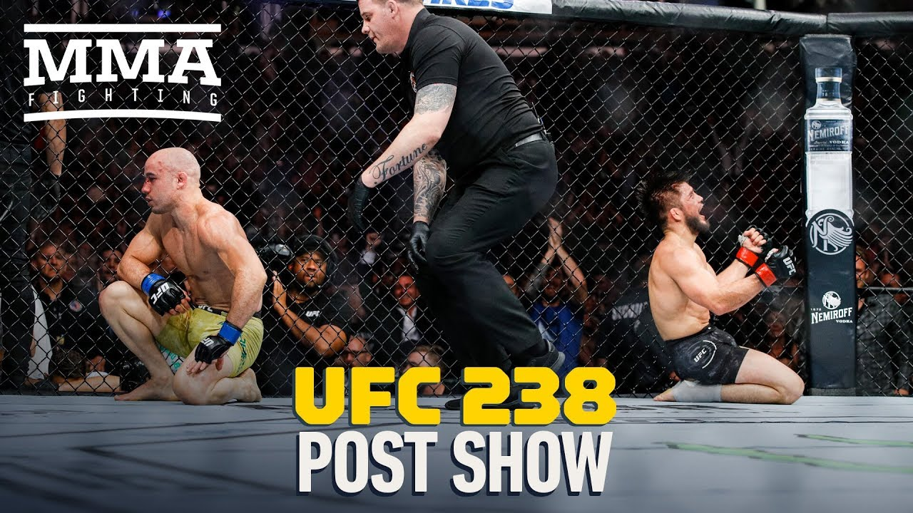 UFC 238 Post-Fight Show - MMA Fighting
