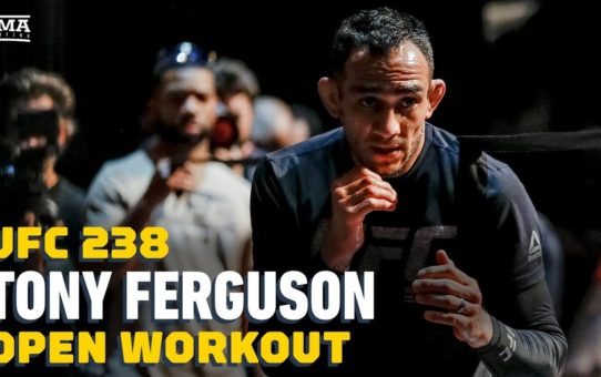 UFC 238: Tony Ferguson Open Workout Highlights – MMA Fighting