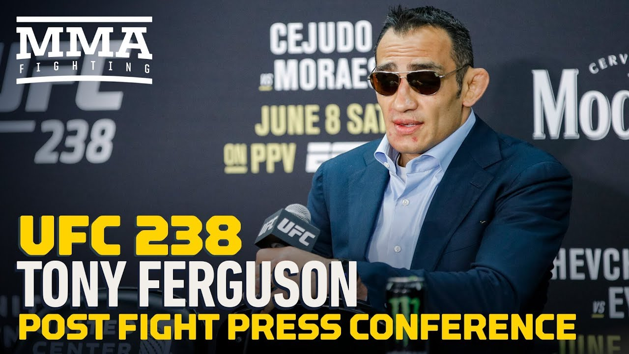 UFC 238: Tony Ferguson Post-Fight Press Conference - MMA Fighting