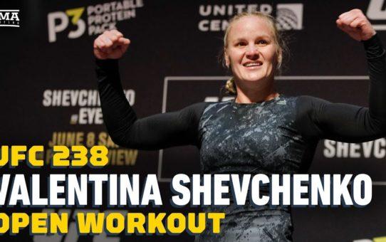 UFC 238: Valentina Shevchenko Open Workout Highlights – MMA Fighting